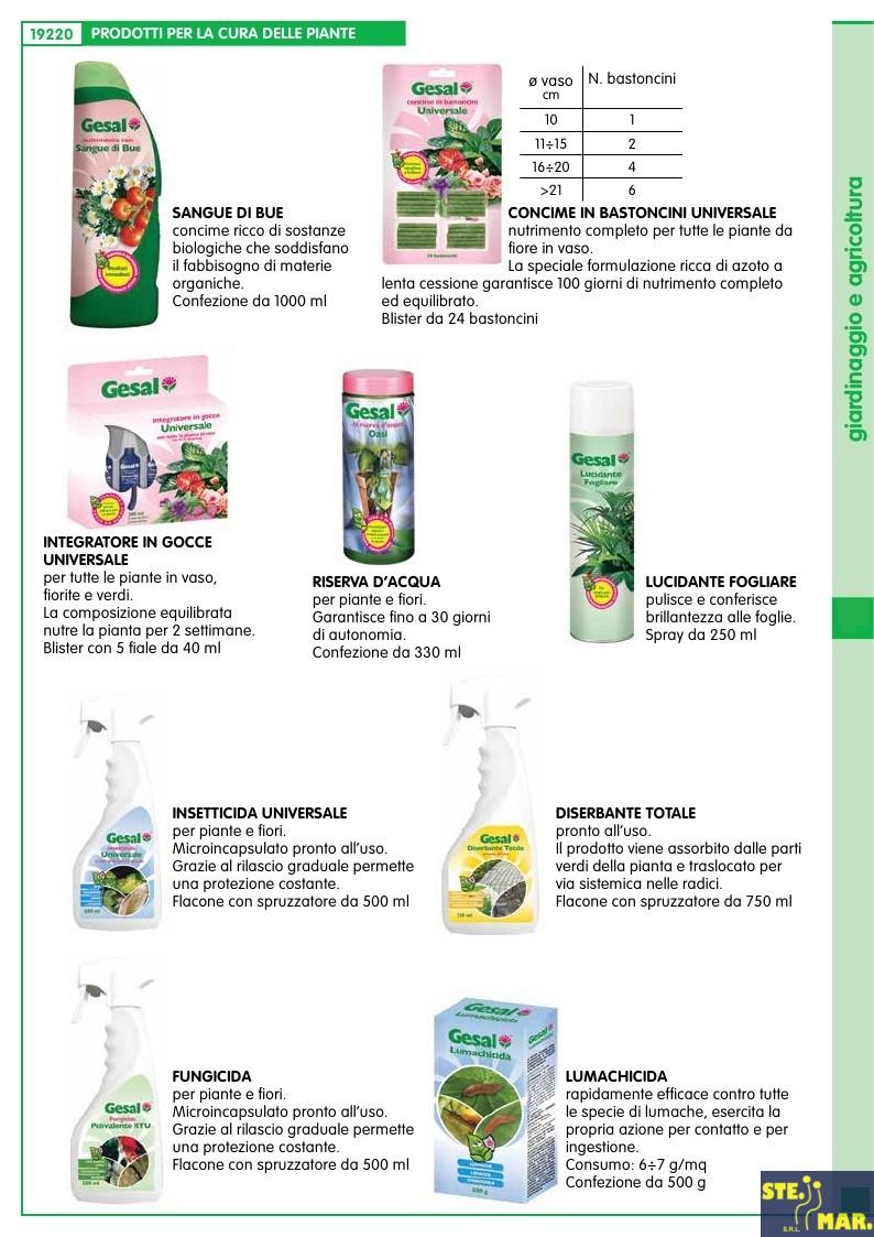 Prodotti per la cura delle piante only fai da te for Prodotti per giardinaggio