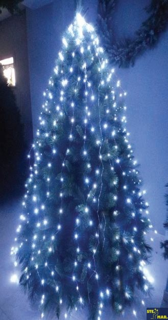 Albero Di Natale Luci Led.Mantello Luci Led Per Albero Di Natale